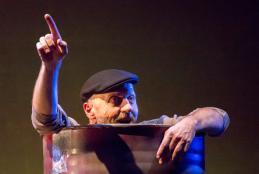 Marco Paolini, protagonista di uno dei sei spettacoli con oltre 1000 spettatori