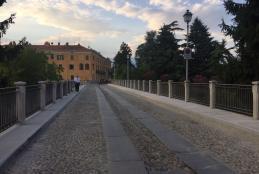 Il ponte della Torrazza al Piazzo a lavori compiuti