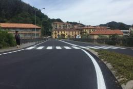 Cantiere chiuso al ponte di Chiavazza
