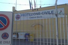 La sede della Protezione Civile di Biella, in corso Rivetti