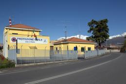 La sede della Protezione Civile cittadina, in corso Rivetti