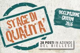 Il logo degli Stage di qualità 2016