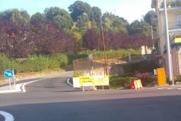 Strada Barazzetto Vandorno chiusa per lavori alle fognature