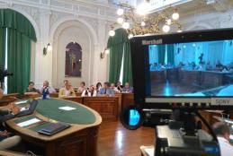 Riprese in diretta del consiglio comunale