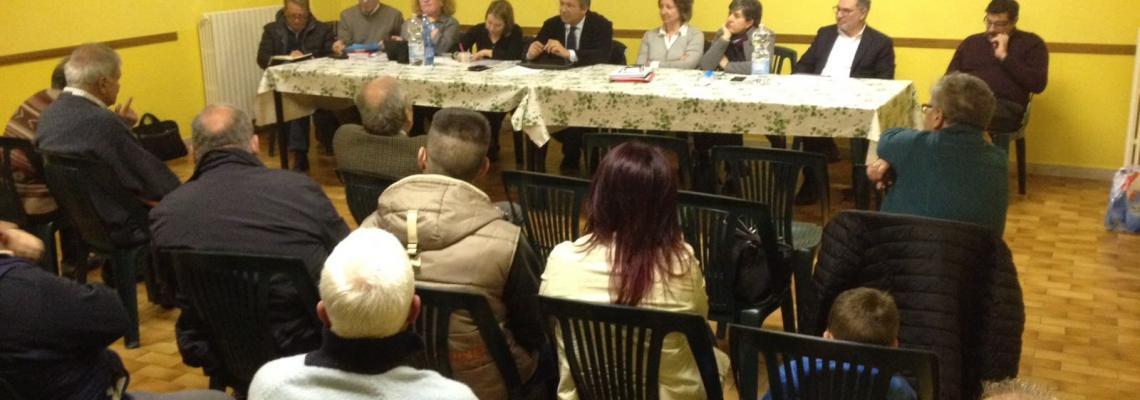 La giunta nei quartieri a Pavignano e Vaglio