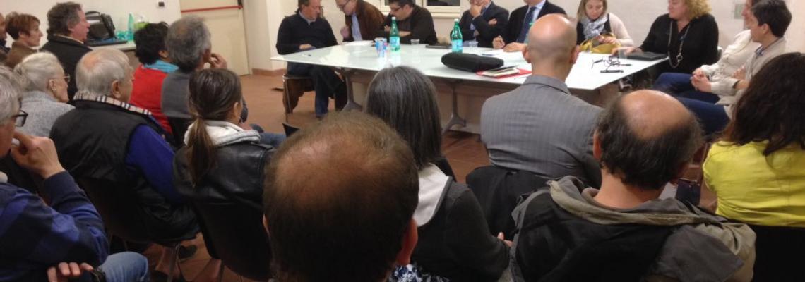 La riunione della giunta nei quartieri al PIazzo