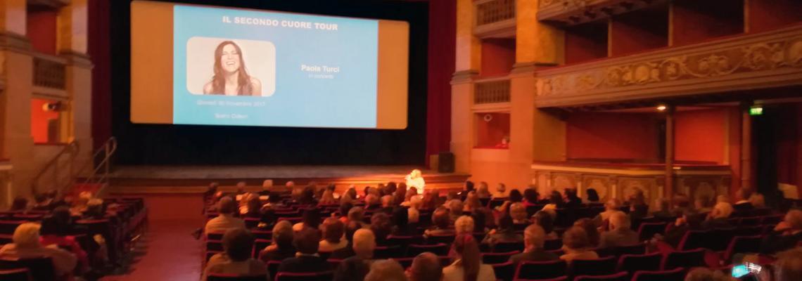 Il pubblico alla presentazione della stagione teatrale 2017/2018