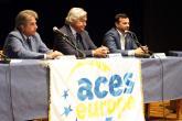 L'onorevole Pella, il presidente Lupattelli e il vicesindaco Moscarola