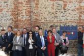 Tra le autorità anche le neoelette parlamentari Lucia Azzolina e Cristina Patelli